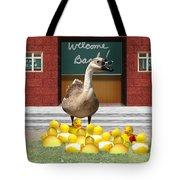 Back To School Little Duckies Tote Bag