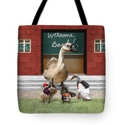 Back To School Time Tote Bag