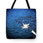 Back To The Bay Blue Crab Tote Bag