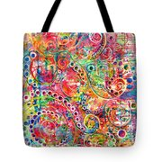 Back To The Beginning Tote Bag