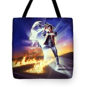 Back To The Future 1985 Tote Bag