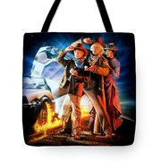 Back To The Future Part IIi 1990 Tote Bag