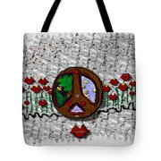Back To The Green Nature With A Angel Smile Tote Bag