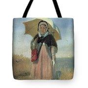Back To The Holy Trinity 1870 Q D 25h19 Pm 7 Tg Vasily Perov Tote Bag