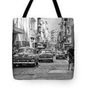 Back To The Past Tote Bag