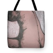 Back Torso Tote Bag