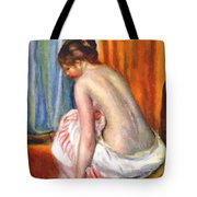 Back View Of A Bather 1893 Tote Bag