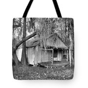 Backdoor Fishing Tote Bag