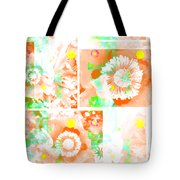 Colour Choice Poppy Collage Tote Bag
