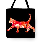 Background Colour Choice Cat Tote Bag