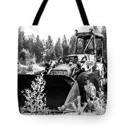 Backhoe Loader Junk Tote Bag