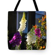 Backlit And Bokeh Tote Bag