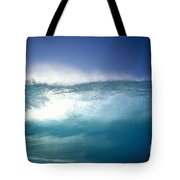 Backlit Wave Tote Bag