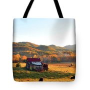 Backroad  Tote Bag