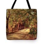 Backroads River Bridge Tote Bag