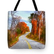 Backroads Vermont Tote Bag