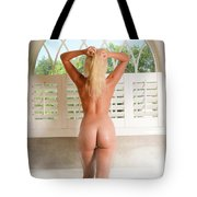 Backside Steam Bath Tote Bag