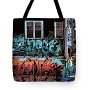 Backstreet Tote Bag by Joanna Madloch