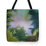 Backwoods Mist Tote Bag