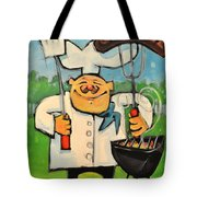 Backyard Bistro Tote Bag