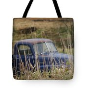 Backyard Blues Tote Bag