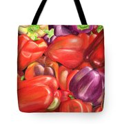 Backyard Bounty Tote Bag by Ekta Gupta