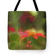 Backyard Coneflower Tote Bag