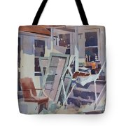 Country Shed Tote Bag