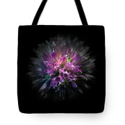 Backyard Flowers 53 Color Version Tote Bag