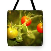 Backyard Garden Series - Cherry Tomatoes Tote Bag