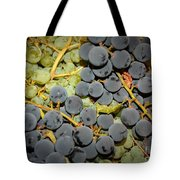 Backyard Garden Series - Grapes And Vines Tote Bag