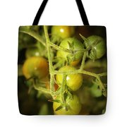Backyard Garden Series - Green Cherry Tomatoes Tote Bag