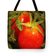 Backyard Garden Series - Roma Tomatoes Tote Bag