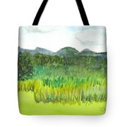Backyard In Barton Tote Bag