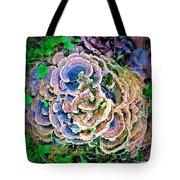 Backyard Mushroom  Tote Bag
