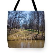 Backyard Solitude Tote Bag