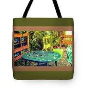 Backyard Summer Tote Bag