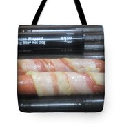Bacon Wrapped Hot Dogs Tote Bag