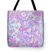 Bacteries Violets Tote Bag