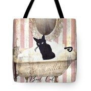 Bad Cat I Tote Bag