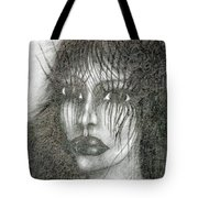 Bad Glance Tote Bag