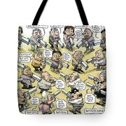 Bad Guys Watch Out Tote Bag
