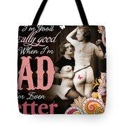Bad Seven Tote Bag