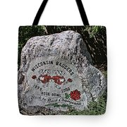 Badgers Rose Bowl Win 2000 Tote Bag
