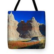 Badlands At Sunset Tote Bag