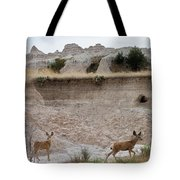Badlands Deer Sd Tote Bag