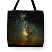 Badlands Milky Way Tote Bag
