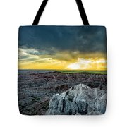Badlands Np Pinnacles Overlook 2 Tote Bag