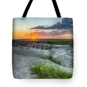 Badlands Np Wilderness Overlook 3 Tote Bag