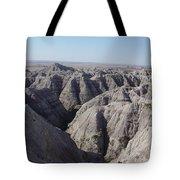 Badlands S.dakota Landscape  Tote Bag